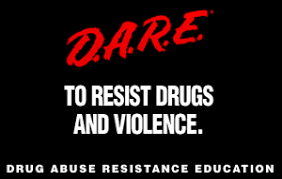 D.A.R.E. to resist drugs and violence logo