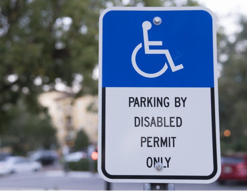 Handicapp Parking Permit Sign