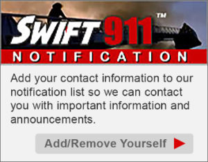 Swift 911 Notification Sign Up